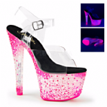 Scarpe Pleaser Crystalize-308PS/C/NHP